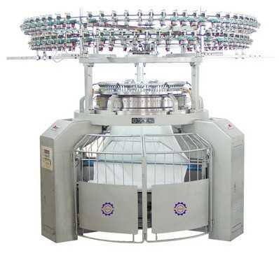 多功能高速单面三线卫衣机